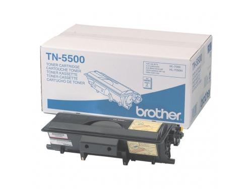 Картридж Brother TN-5500 Чёрный 12000 стр., вид 1