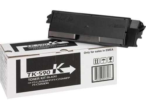 Картридж Kyocera TK-590K Black, вид 1