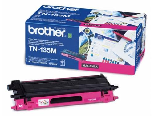 Картридж Brother TN-135M Пурпурный 4000 стр., вид 1