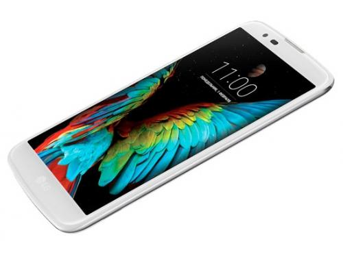 Смартфон LG K10 LTE K430DS, белый, вид 4
