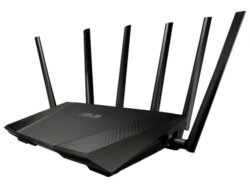 Роутер WiFi ASUS RT-AC3200, вид 1