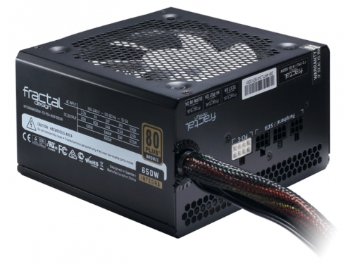 Блок питания Fractal Design 650W Integra M, 120mm, APFC FD-PSU-IN3B-650W-EU, вид 1