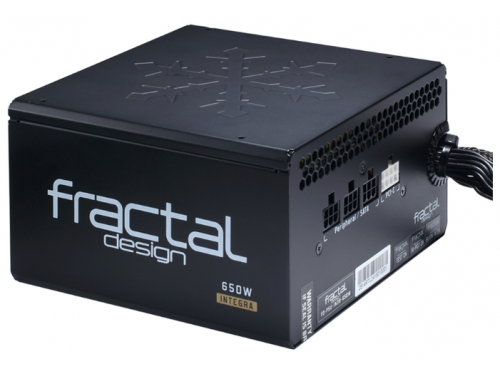 Блок питания Fractal Design 650W Integra M, 120mm, APFC FD-PSU-IN3B-650W-EU, вид 3