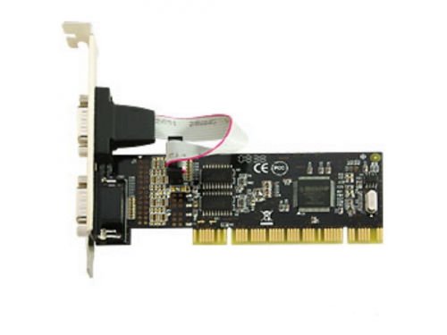 Контроллер Speed Dragon PCI FG-PMIO-V3T-0002S-1-BU01 (2 внеш. 9pin), вид 1