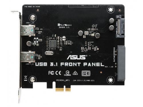 Контроллер ASUS USB 3.1 FRONT PANEL (SATA Express - 2x USB3.1a), вид 1