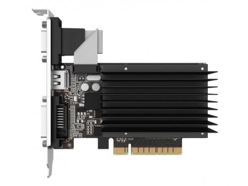 Видеокарта GeForce Palit GeForce GT 710 954Mhz PCI-E 2.0 2048Mb 1600Mhz 64 bit DVI HDMI HDCP Silent, вид 2