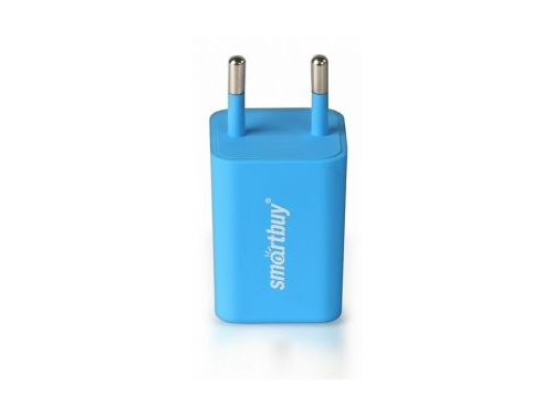 Зарядное устройство SmartBuy TRAVELER Голубое, вид 1