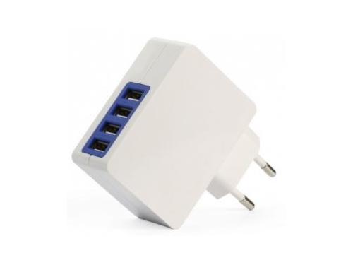 Зарядное устройство SmartBuy QUATTRO Белое, вид 1