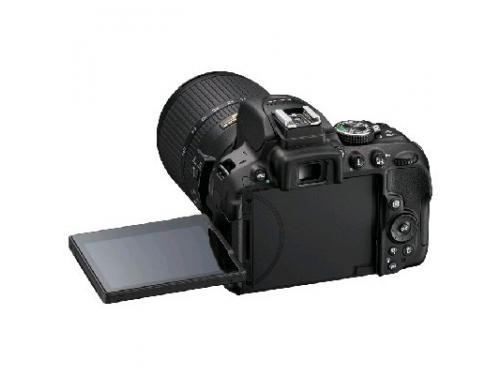 Цифровой фотоаппарат Nikon D5300 KIT (AF-S DX 18-105mm VR) Black, вид 7