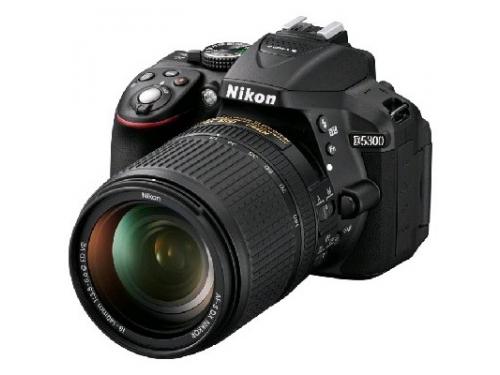 Цифровой фотоаппарат Nikon D5300 KIT (AF-S DX 18-105mm VR) Black, вид 8