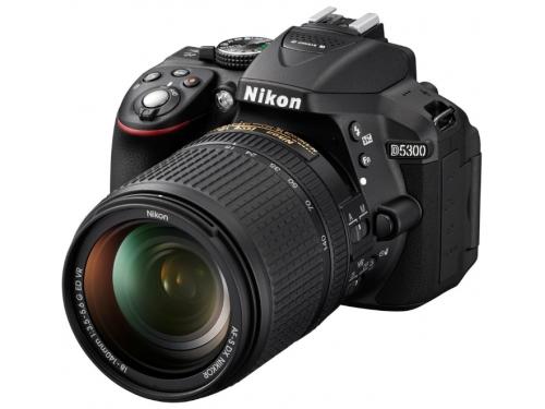 Цифровой фотоаппарат Nikon D5300 KIT (AF-S DX 18-105mm VR) Black, вид 4
