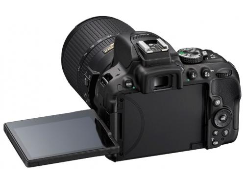Цифровой фотоаппарат Nikon D5300 KIT (AF-S DX 18-105mm VR) Black, вид 5