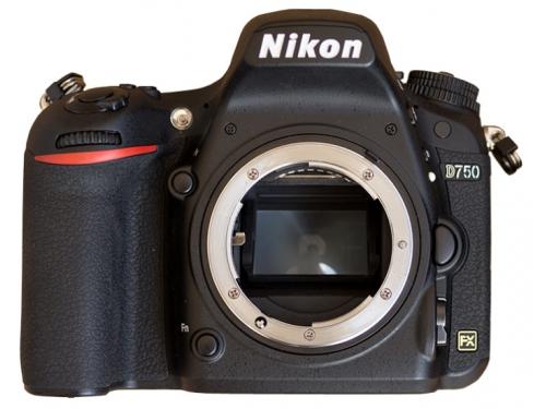 Цифровой фотоаппарат Nikon D750 Body, черный, вид 2