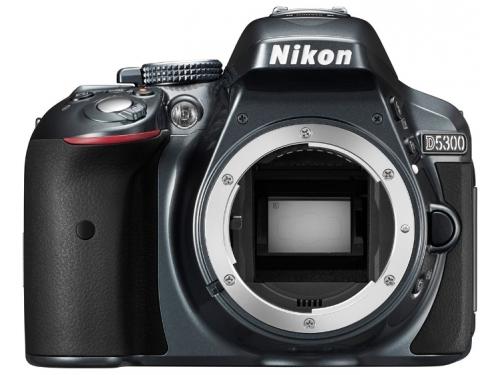 Цифровой фотоаппарат Nikon D5300 Body черный, вид 2