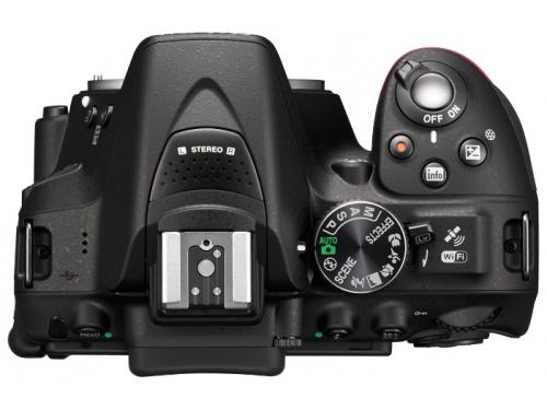 Цифровой фотоаппарат Nikon D5300 Body черный, вид 3