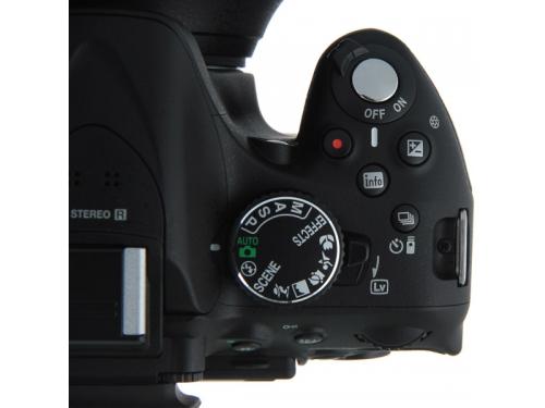 Цифровой фотоаппарат Nikon D5200 KitT+18-105 VR Чёрный, вид 4