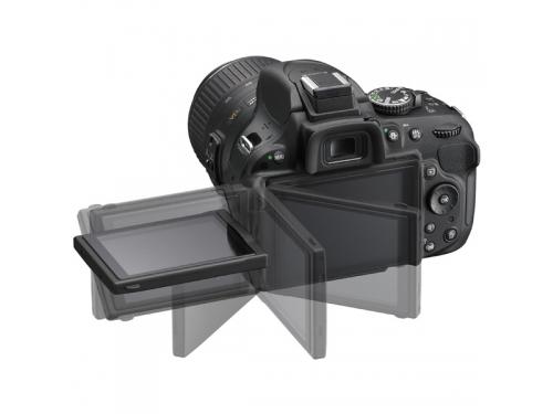 Цифровой фотоаппарат Nikon D5200 KitT+18-105 VR Чёрный, вид 2