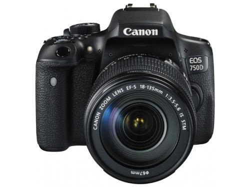 Цифровой фотоаппарат Canon EOS 750D KIT 0592C009, вид 1