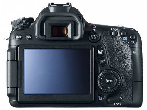 Цифровой фотоаппарат Canon EOS 70D (W) Body, вид 2