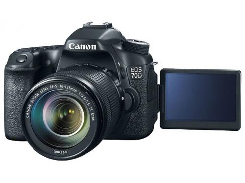 Цифровой фотоаппарат Canon EOS 70D KIT 8469B011, вид 4