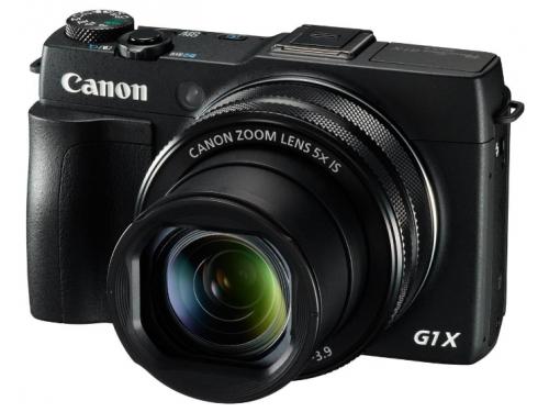 Цифровой фотоаппарат Canon PowerShot G1 X MARK II, черный, вид 1
