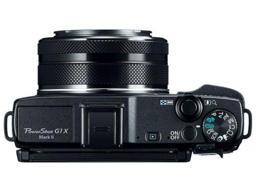 Цифровой фотоаппарат Canon PowerShot G1 X MARK II, черный, вид 3