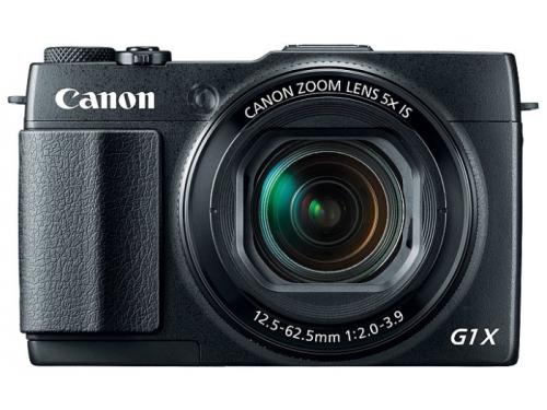 Цифровой фотоаппарат Canon PowerShot G1 X MARK II, черный, вид 5