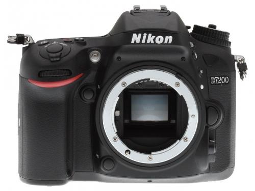 Цифровой фотоаппарат Nikon D7200 Body, черный VBA450AE