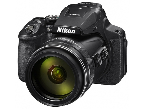 Цифровой фотоаппарат Nikon Coolpix P900, черный, вид 1