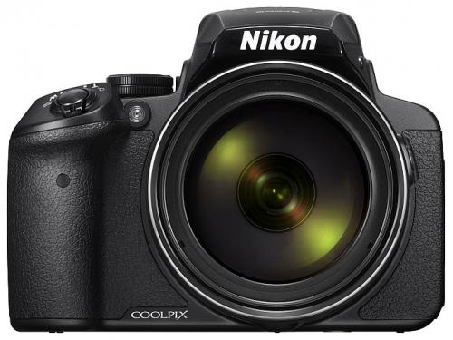 Цифровой фотоаппарат Nikon Coolpix P900, черный, вид 3