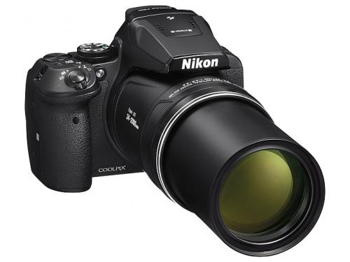 Цифровой фотоаппарат Nikon Coolpix P900, черный, вид 5