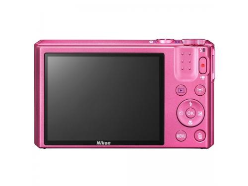 Цифровой фотоаппарат Nikon Coolpix S7000, розовый, вид 4