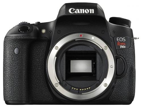 Цифровой фотоаппарат Canon EOS 760D Body, черный, вид 1