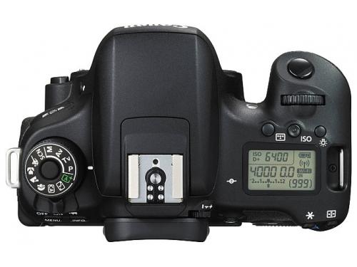 Цифровой фотоаппарат Canon EOS 760D Body, черный, вид 3