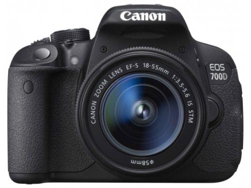 Цифровой фотоаппарат Canon EOS 700D KIT (EF-S 18-55mm IS STM), вид 1