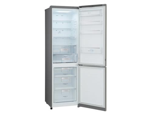 Холодильник LG GA-B489SMQZ металл, вид 1