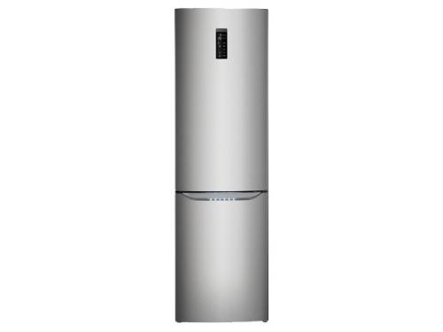 Холодильник LG GA-B489SMQZ металл, вид 2