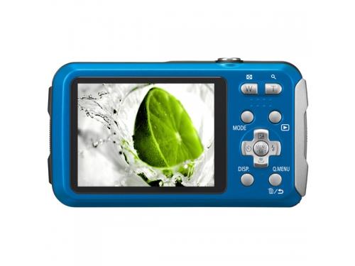 Цифровой фотоаппарат Panasonic Lumix DMC-FT30 синий, вид 1