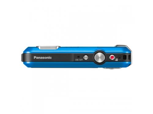 Цифровой фотоаппарат Panasonic Lumix DMC-FT30 синий, вид 2