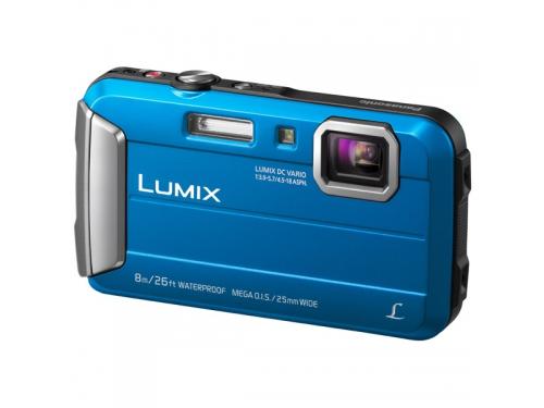 Цифровой фотоаппарат Panasonic Lumix DMC-FT30 синий, вид 3
