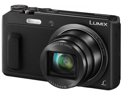 Цифровой фотоаппарат Panasonic Lumix DMC-TZ57 черный, вид 1