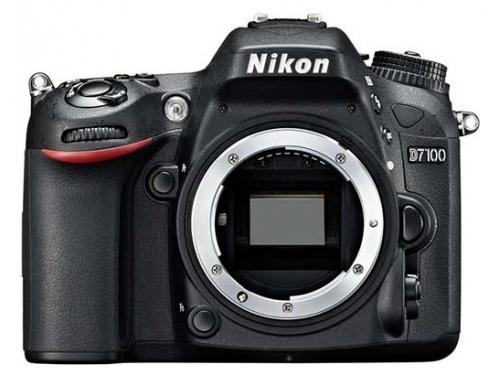 Цифровой фотоаппарат Nikon D7100 Body, черный, вид 1