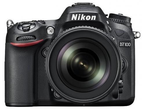 Цифровой фотоаппарат Nikon D7100 KIT AF-S DX 18-105mm VR, вид 1