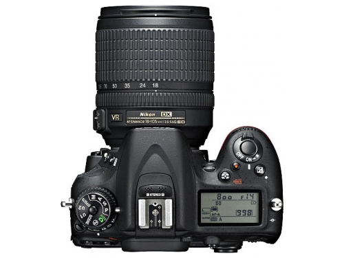 Цифровой фотоаппарат Nikon D7100 KIT AF-S DX 18-105mm VR, вид 3