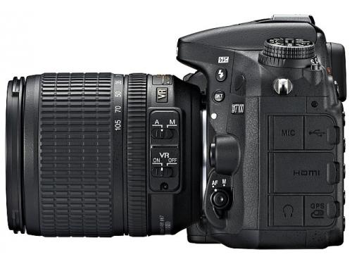 Цифровой фотоаппарат Nikon D7100 KIT AF-S DX 18-105mm VR, вид 4