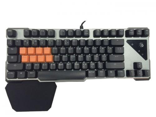 Клавиатура A4Tech Bloody B700 USB, чёрная, вид 1