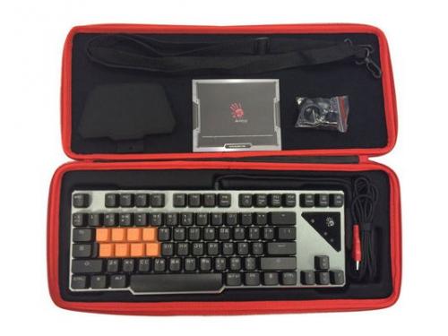 Клавиатура A4Tech Bloody B700 USB, чёрная, вид 2