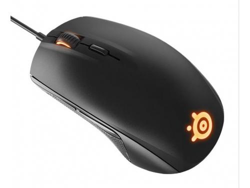 Мышка SteelSeries Rival 100 Black USB, вид 4