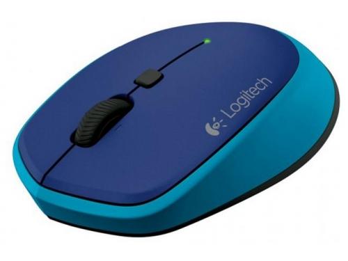 Мышка Logitech M335 910-004546 Blue USB (беспроводная), вид 1