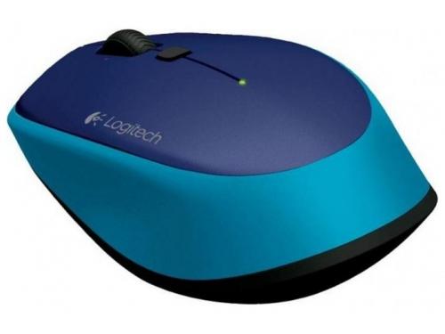 Мышка Logitech M335 910-004546 Blue USB (беспроводная), вид 2